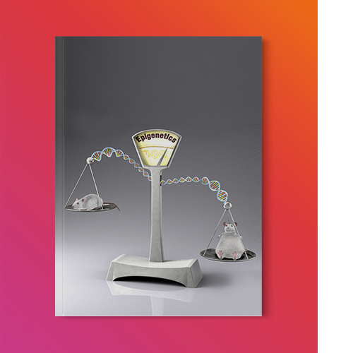 3D Illustration: Mouse Genetics Journal Cover