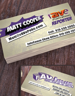 Comic Book Themed Business Cards