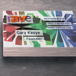 ISE Ray Themed Business Cards