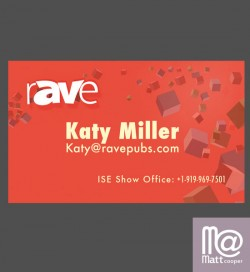 Magic themed business cards
