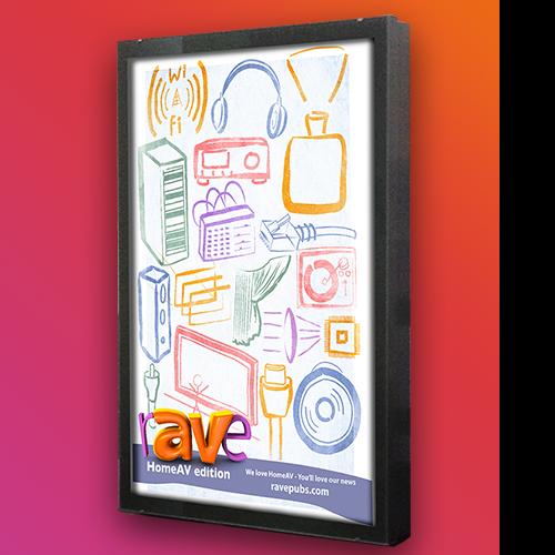 Print: Home AV Tradeshow Poster