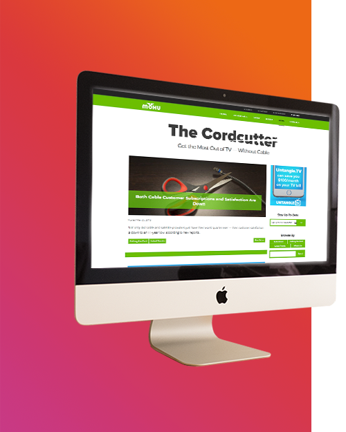 Website: Mohu Cordcutter Blog Redesign
