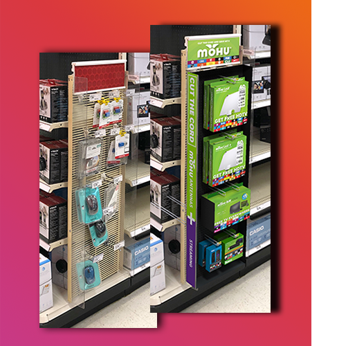 Retail Display Simulation Overlay Projects